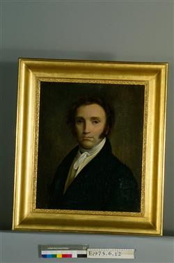 Portrait de Charles-Joseph Sax (1790-1865)   Anonyme