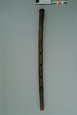 Flûte à embouchure terminale | Anonyme