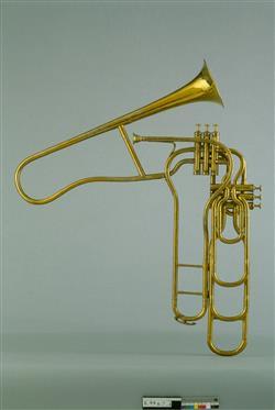 Trombone à pistons | Adolphe-Edouard Sax