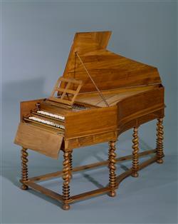 Fac-similé du clavecin de Vincent Tibaut (E.997.11.1, Musée de la musique, Paris) | Emile Jobin