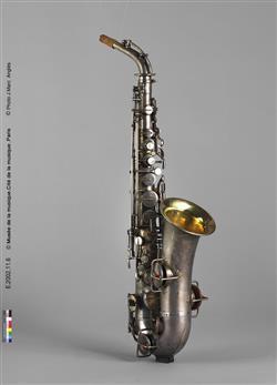 Saxophone alto en mi b   Ferdinand August Buescher