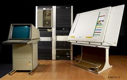 Table à digitaliser UPIC (unité polyagogique informatique de CEMAMu) | Iannis Xénakis