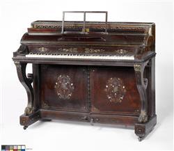 Piano console | Anonyme