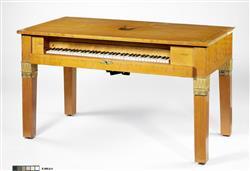 Piano carré modèle bureau | Maison Pleyel