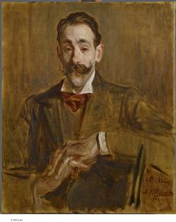 Portrait de Ricardo Vines | Blanche, Jacques-Emile