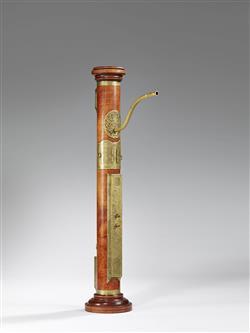 Fac-similé d'une flûte à bec ténor dite flûte colonne attribuée à Hans Rauch von Schratt (E.691, Musée de la musique, Paris) | Henri Gohin