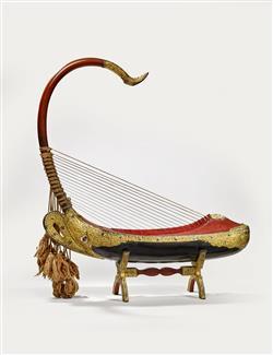 "Harpe arquée ""saung-gauk"" | Anonyme"