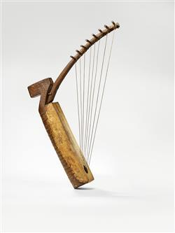 Harpe arquée ngombi | Anonyme