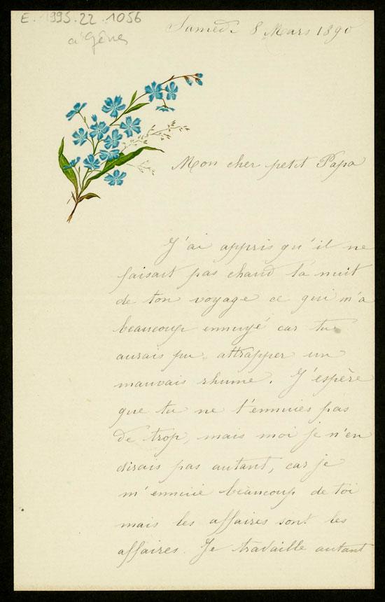 Correspondance familiale de la famille Chanot puis Chardon (1885 -1958) |